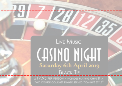 April 07th – Live Music